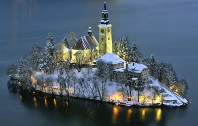 Bled-island-church