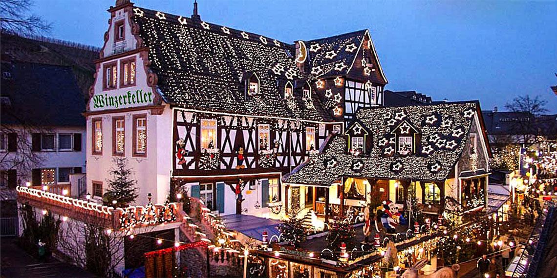 Rüdesheim at Christmas time