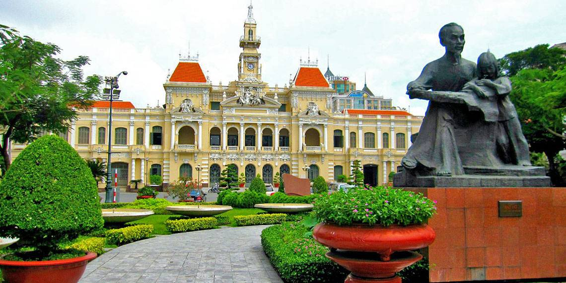Vietnam - Ho Chi Minh city hall