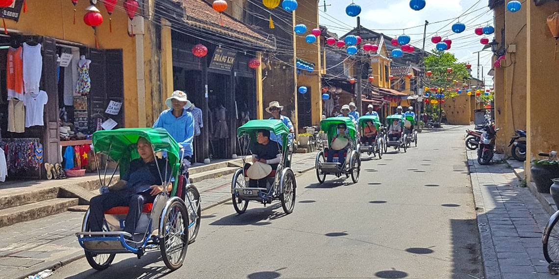Vietname - Cyclo tour of Hoi An