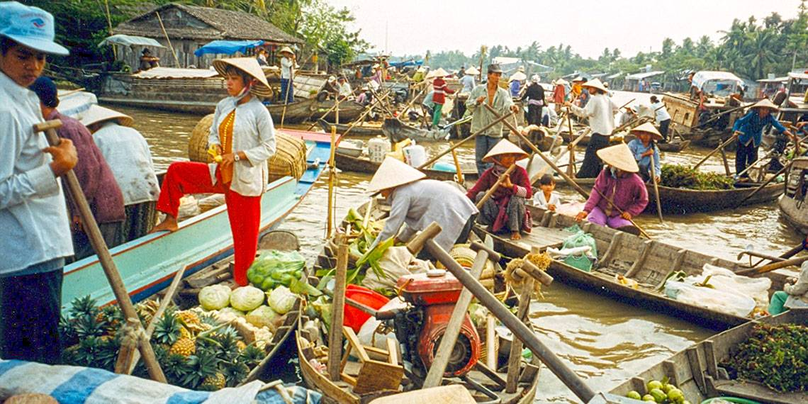 Vietnam - Can Tho floating market